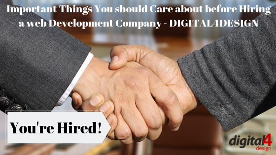 Hiring a web Development Company in india