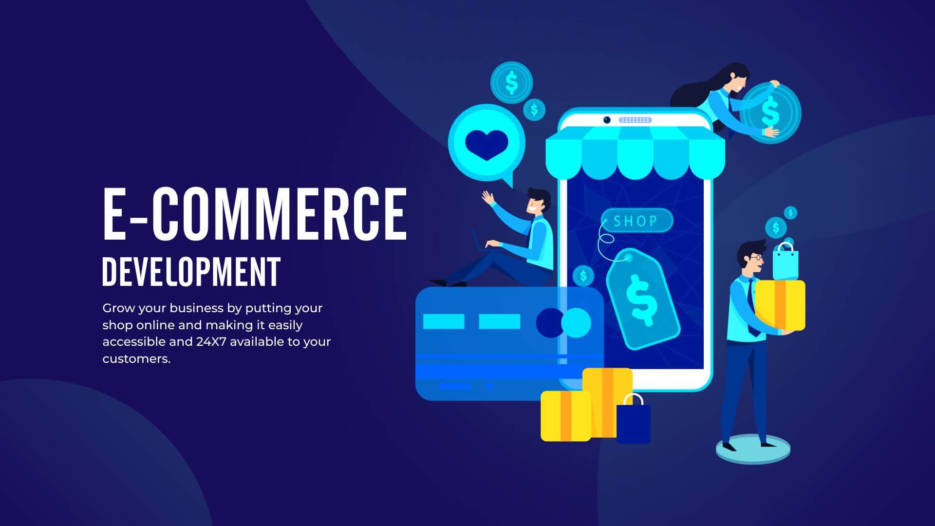 Ecommerce Website Development -How to Make a Shop that Sells