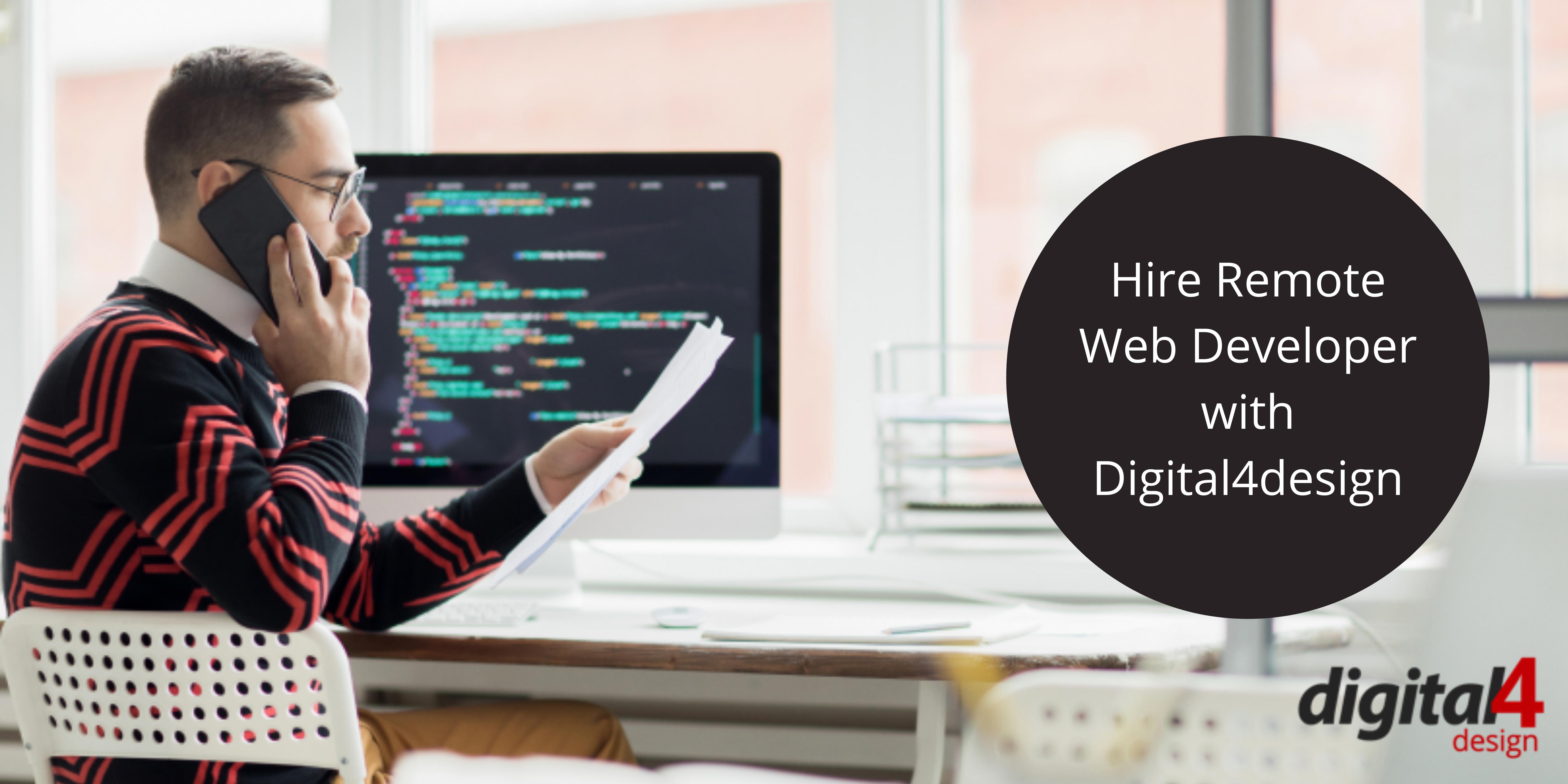 Hire Remote Web Developer from Trustable Web Development Company