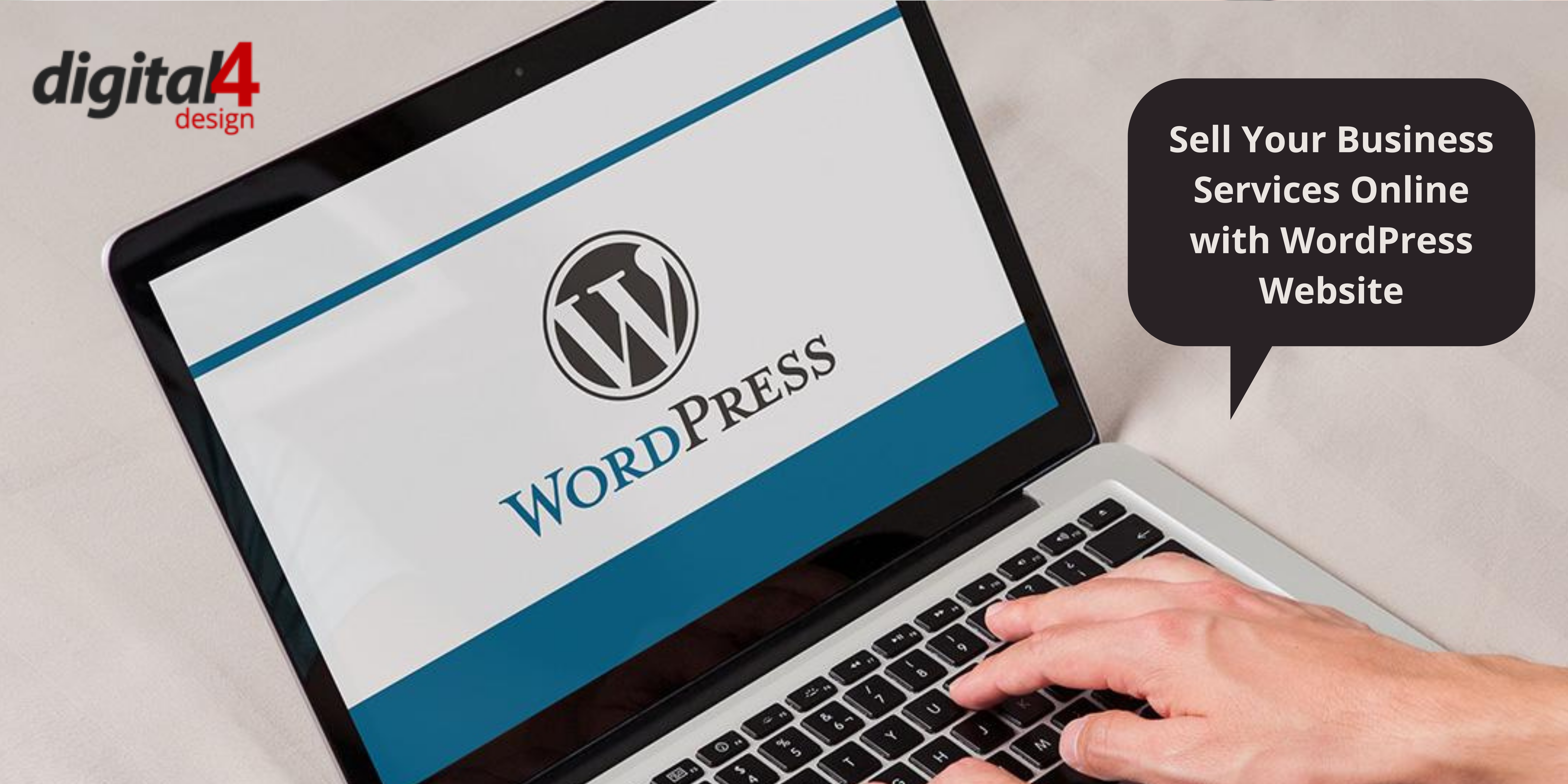 Sell Your Business Services Online with WordPress Website - Digital4design
