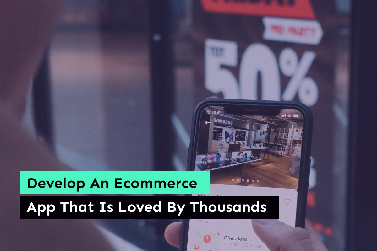 ECommerce Mobile App Development- Digital4design